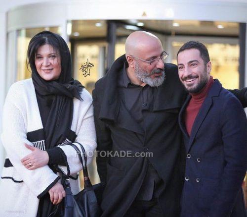 عکس جدید امیر جعفری و همسرش ریما رامین فر در کنار نوید محمد زاده