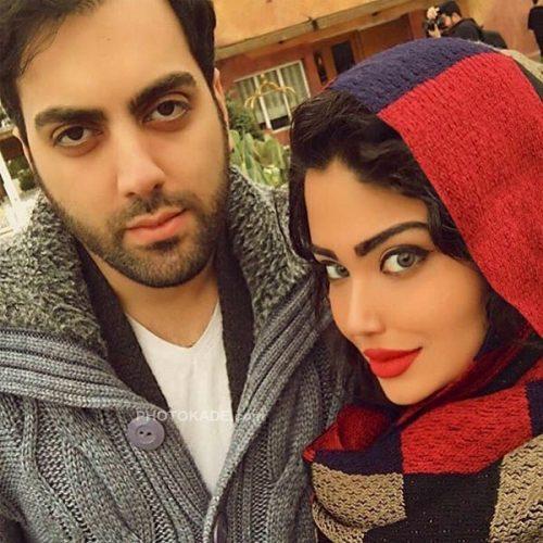 عکس جدید بهادر زمانی و همسرش نرگس خاتون