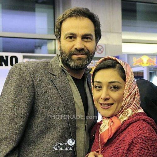 عکس جدید آرش مجیدی و همسرش خانوم مهدی نژاد