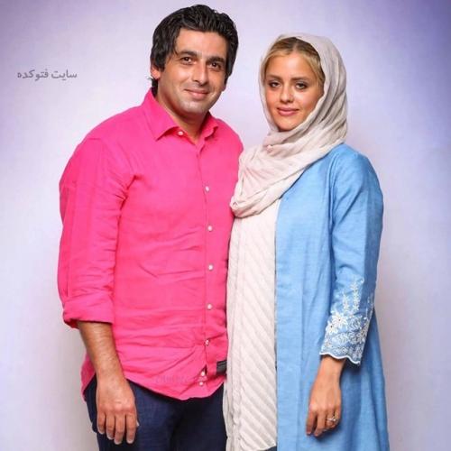 عکس حمید گودرزی و همسر سابق اش ماندانا دانشور