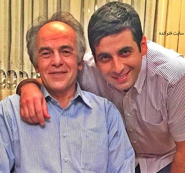 حمید گودرزی و پدرش + زندگی شخصی
