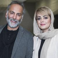 حمیدرضا آذرنگ و همسرش ساناز بیان + زندگی شخصی