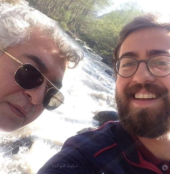 عکس حمید شریف زاده بازیگر + پدرش