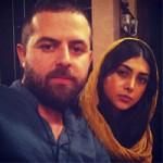 هومن سیدی و همسرش آزاده صمدی