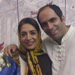ساناز سماواتی و همسرش + ماجرای مهاجرت و بیوگرافی