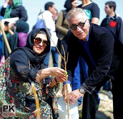 عکس جدید رویا تیموریان و همسرش مسعود رایگان