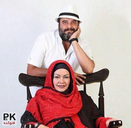 عکس جدید هومن برق نورد و همسرش