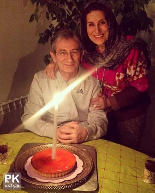 عکس جدید فاطمه معتمدآرایا و همسرش احمد حامد