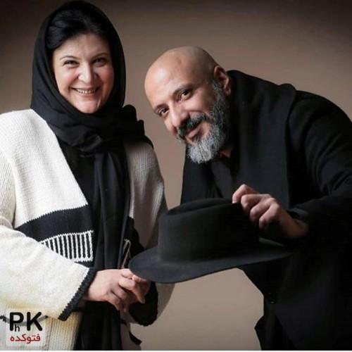 عکس جدید امیر جعفری و همسرش ریما رامین فر