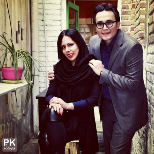 عکس جدید کیوان محمود نژاد و همسرش تانیا ره انجام