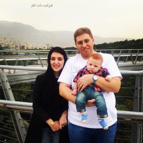 عکس مهسا کرامتی و همسرش راما قویدل