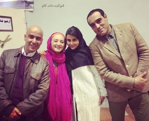 نیما فلاح و سحرولدبیگی - امیریل ارجمند و یاسمینا باهر
