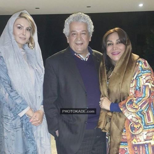 عکس جدید رضا فیضی و همسرش فریده (نفر سمت راستی)