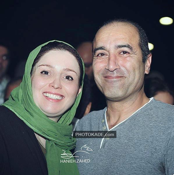عکس جدید ژاله صامتی و همسرش