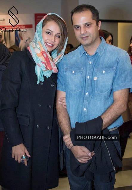 عکس جدید شبنم قلی خانی و همسرش