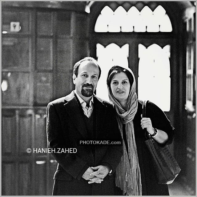 عکس جدید اصغر فرهادی و همسرش