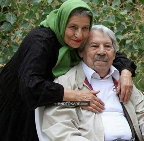 عکس جدید داوود رشیدی و همسرش