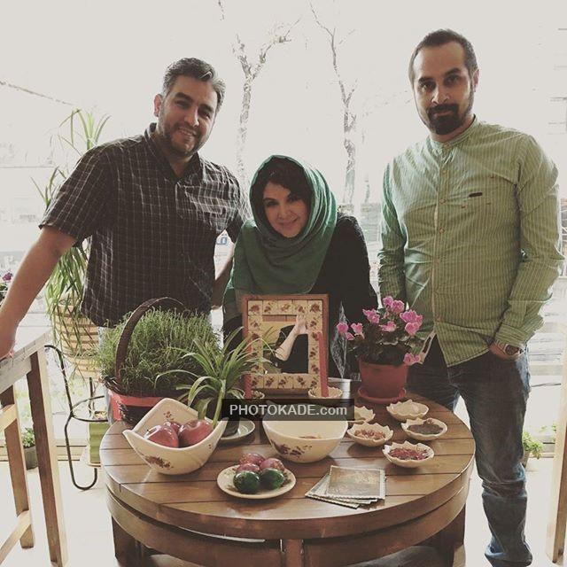 عکس جدیدی شهر لرستانی و همسرش (نفر راستی)