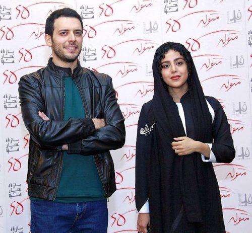 عکس جدید هنگامه حمیدزاده و پدرام شریفی