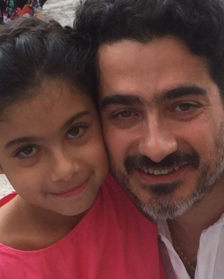 عکس همایون شجریان و دخترش یاسمین