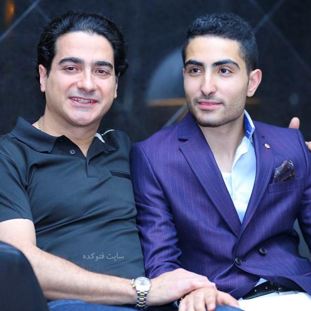 عکس جدید همایون شجریان و برادر ناتنی اش رایان