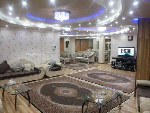 دکوراسیون داخلی خانه های بزرگ: عکس های دکوراسیون پذیرایی منزل ایرانی