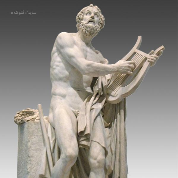 عکس و بیوگرافی هومر شاعر یونانی