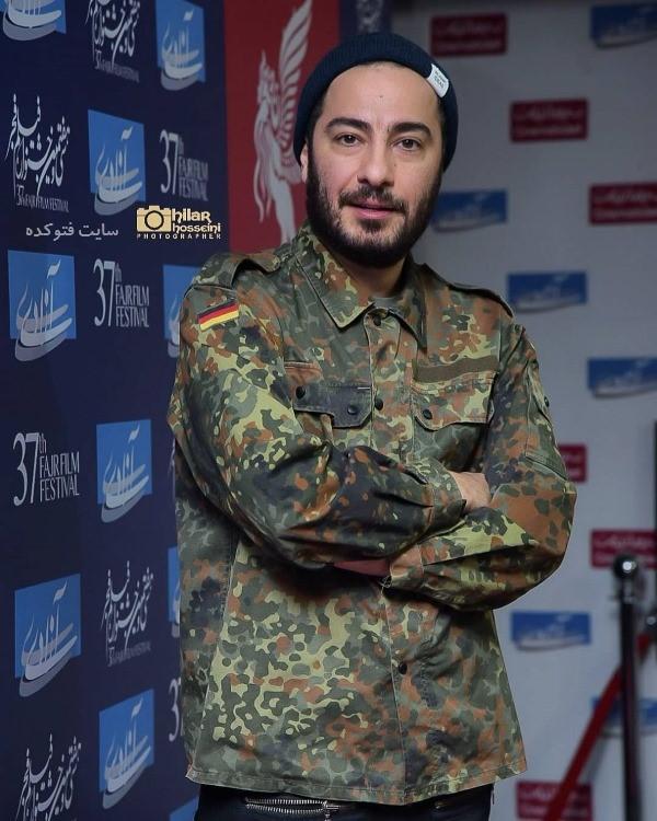 تیپ بازیگران زن در جشنواره فجر 97 نوید محمدزاده