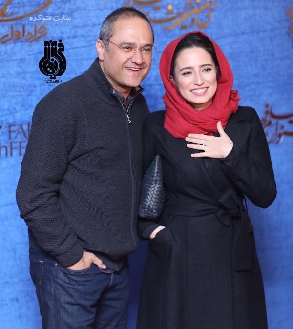 عکس تیپ بازیگران زن در جشنواره فجر 97 نگار جواهریان و رامبد جوان