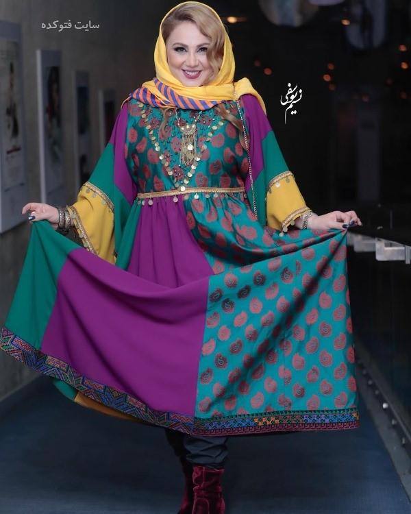 تیپ بازیگران زن در جشنواره فجر 97 بهنوش بختیاری