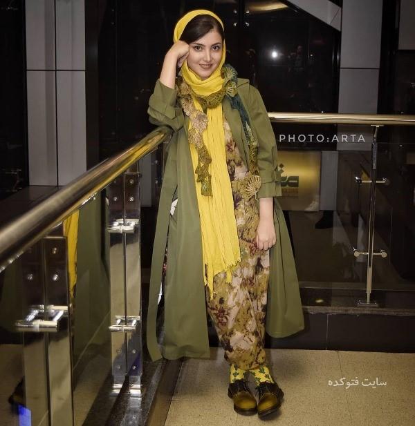 عکس تیپ هنرمندان در جشنواره فجر 97 نگار مقدم