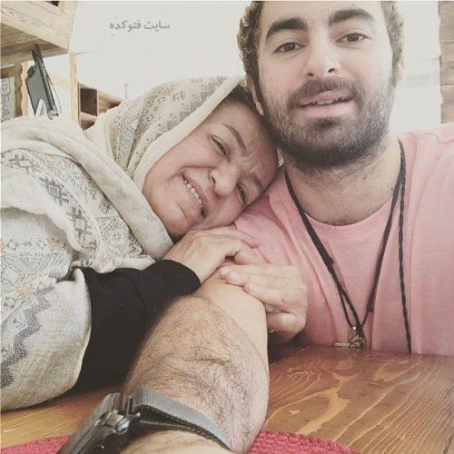 عکس هومن گامنو و مادرش + بیوگرافی خواننده سوسن خانوم