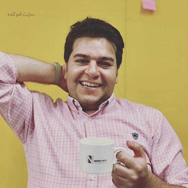 عکس های حسین کلهر مجری سلام صبح بخیر