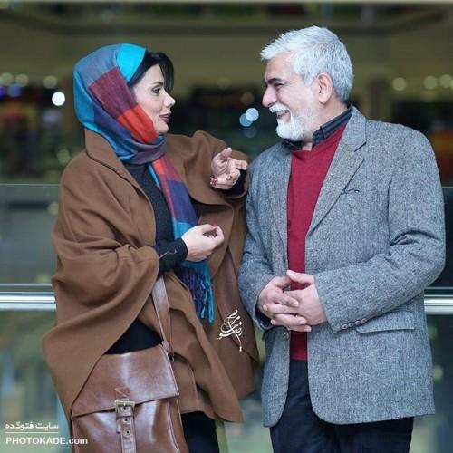 عاطفه رضوی و همسرش حسین پاکدل + بیوگرافی
