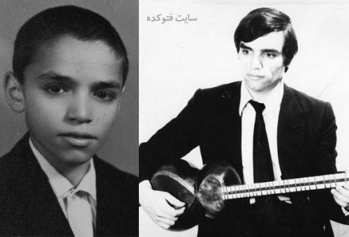 عکس کودکی و جوانی حسین علیزاده نوازنده مشهور ایرانی + بیوگرافی