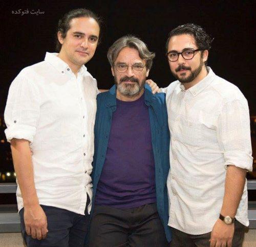 عکس حسین علیزاده و پسرانش صبا و نیما + بیوگرافی کامل
