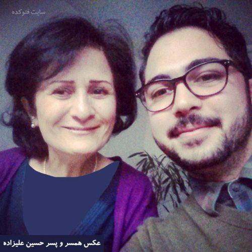 عکس همسر حسین علیزاده و پسرش + بیوگرافی کامل