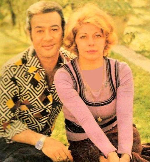 عکس های حسین عرفانی و همسرش قبل از انقلاب