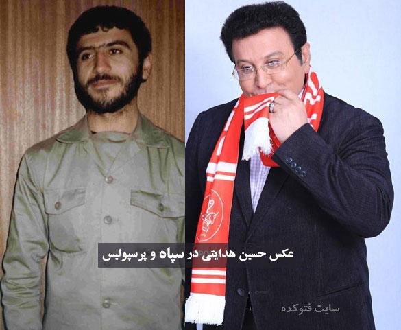 حسین هدایتی در سپاه + بیوگرافی کامل