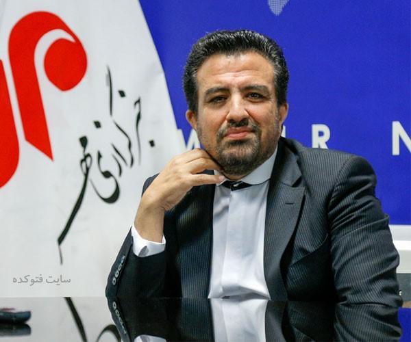 عک همسر حمیرا همتی خبرنگار