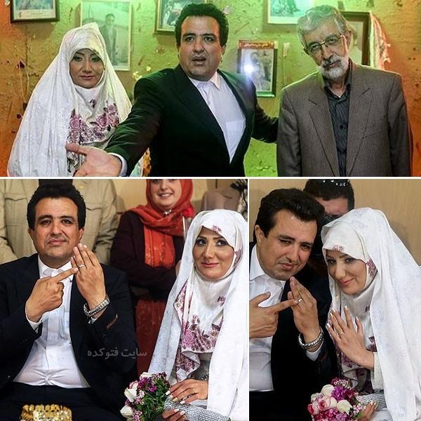 حمیرا همتی همسر حسینی بای خبرنگار