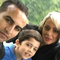 حسین کعبی و همسرش + سن واقعی و زندگی