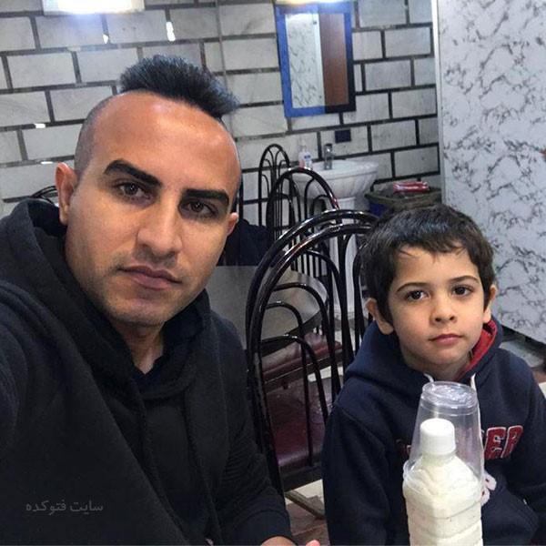 عکس هایحسین کعبی و پسرش بردیا + بیوگرافی کامل