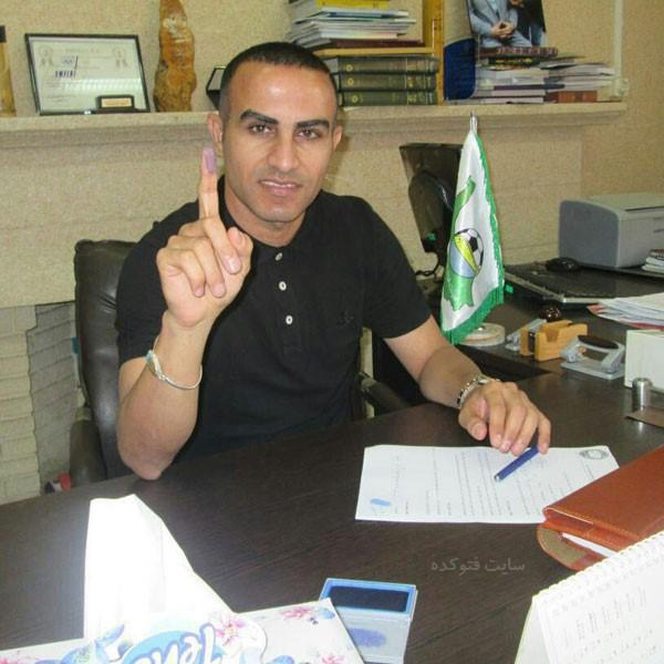 حسین کعبی بازیکن فوتبال + سن واقعی و زندگی شخصی