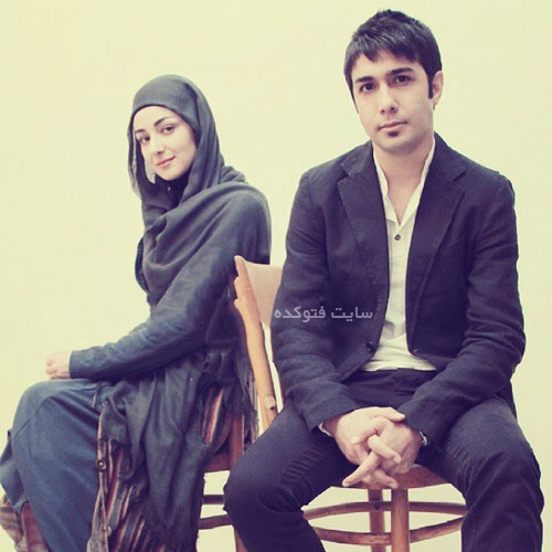 عکس حسین مهری + ویدا جوان