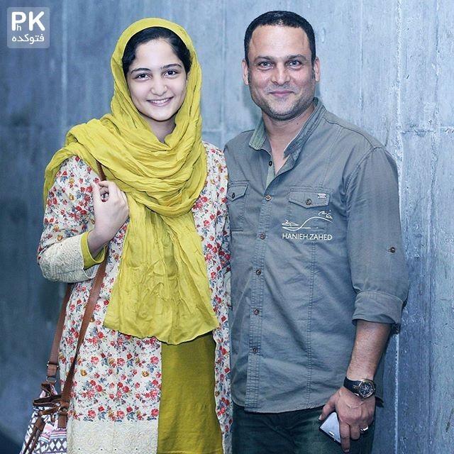 عکس حسین یاری و دخترش سارا + زندگی شخصی