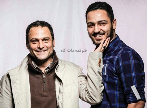 عکس حسین یاری و پسرش سروش