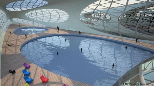 هتل شناور روی دریا برای آیندگان,عکس های هتل رویایی برای آیندگان,عکس هتل رویایی و شناور روی آب برای آیندگان,ایده هتل زیبای شناور روی آب برای آیندگان