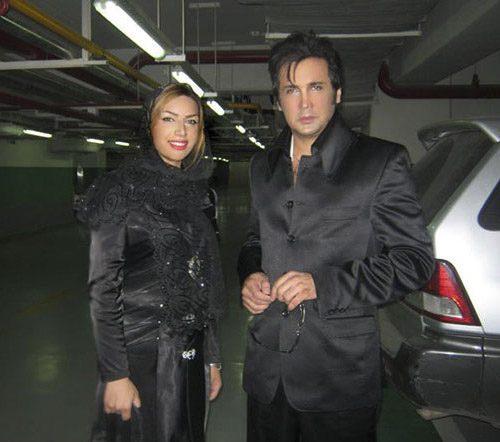 عکس حسام نواب صفوی و همسرش