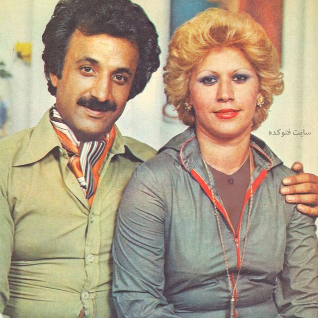 عکسحسن شماعی زاده و همسرش + بیوگرافی